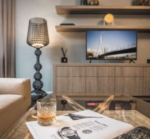 For rent: Parklaan, Rotterdam - Kick back and watch the 50-inch flat screen TV